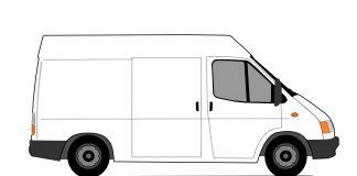 transit van white