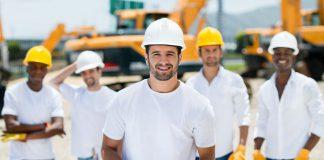 contractors on site