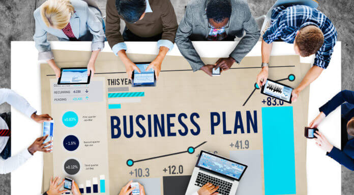44732029 - business plan planning strategy success objective concept