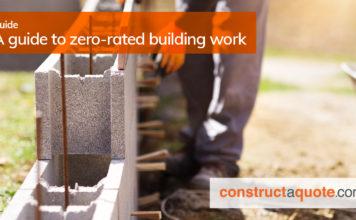 zero rated building work