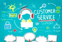 41318711 - customer service call center agent care concept