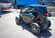 26909990 - renault twizy electronic car with cyber design
