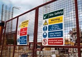 site saftey warning signs