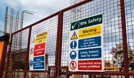 site saftey warning signs