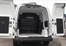 van with open back doors