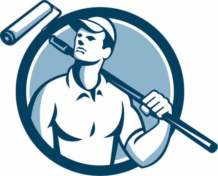 Blue Tradesman Badge