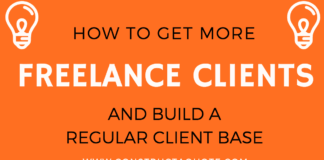 Infographic: How To Get More Clients As A Freelancer
