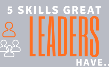 Infographic: 5 Skills Great Leaders Have