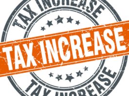 Tax Increase Icon Representing Upcoming Insurance Premium Tax Increase