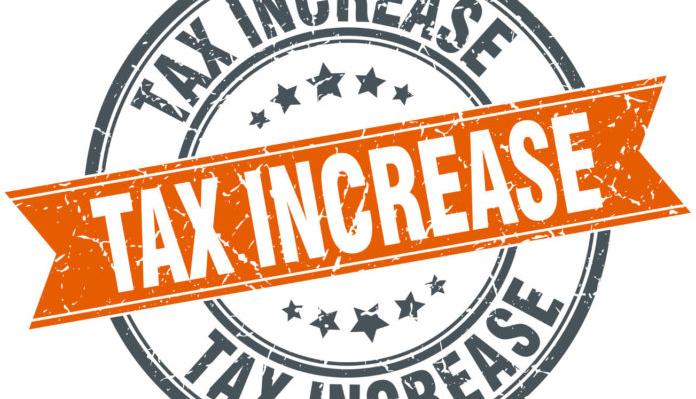 Tax Increase Icon Representing Upcoming Insurance Premium Tax Increase
