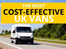 Infographic: The Most Cost-Effective UK Vans