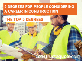 5 Degrees For People Considering A Career In The Construction