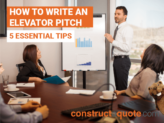 How To Write An Elevator Pitch For Your New Business Idea