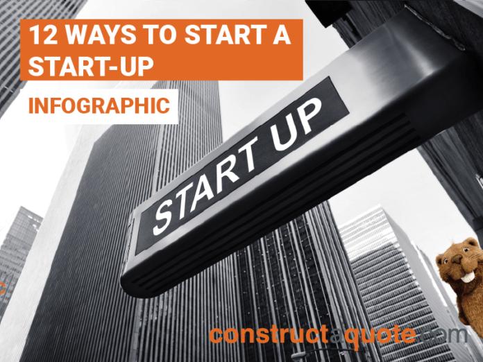 12 ways to start a start-up