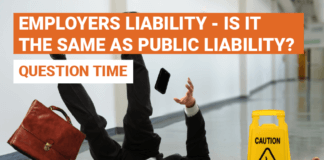 Employers liability – is it the same as public liability?
