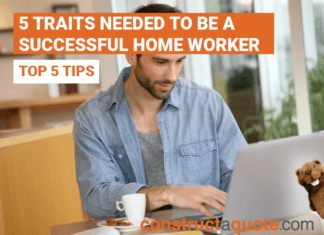 5 Traits needed to be a successful home worker
