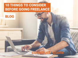 going freelance constructaquote.com