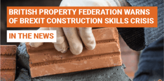 British Property Federation Warns Of Post-Brexit Construction Skills Crisis