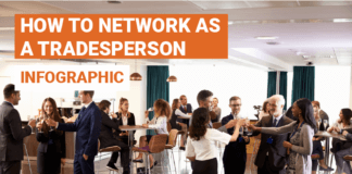 How to network as a tradesperson