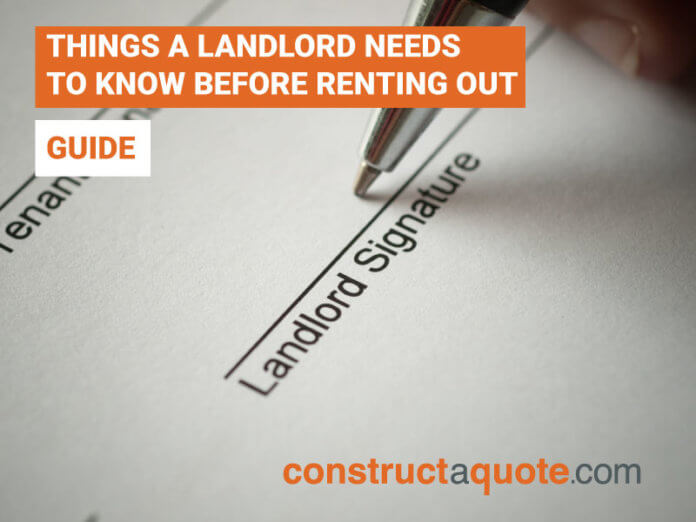 renting out as a landlord