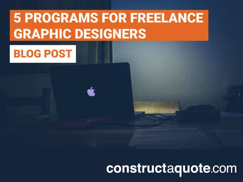 5 Useful Software Programs For Freelance Graphic Designers