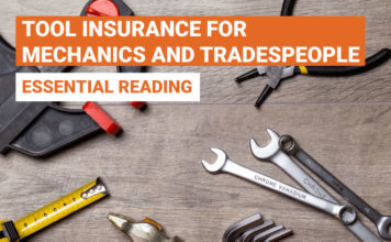 Tool insurance for tradespeople | constructaquote.com