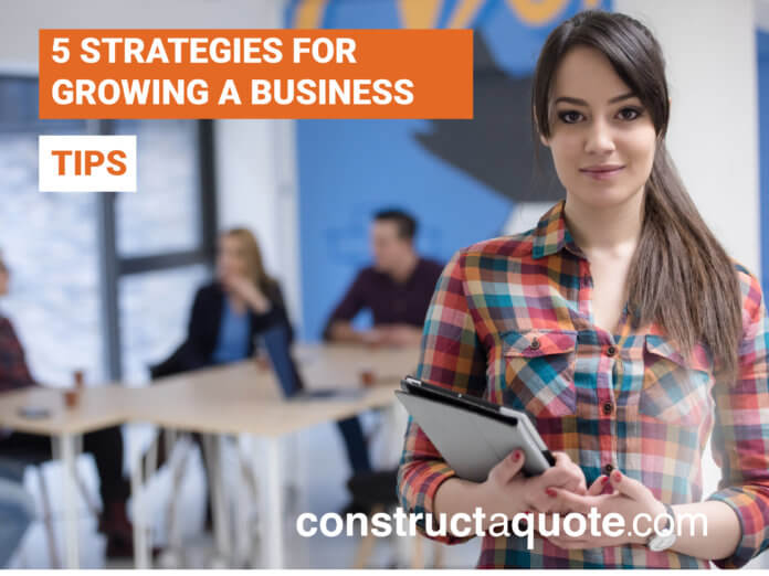 Growing a Business | constructaquote