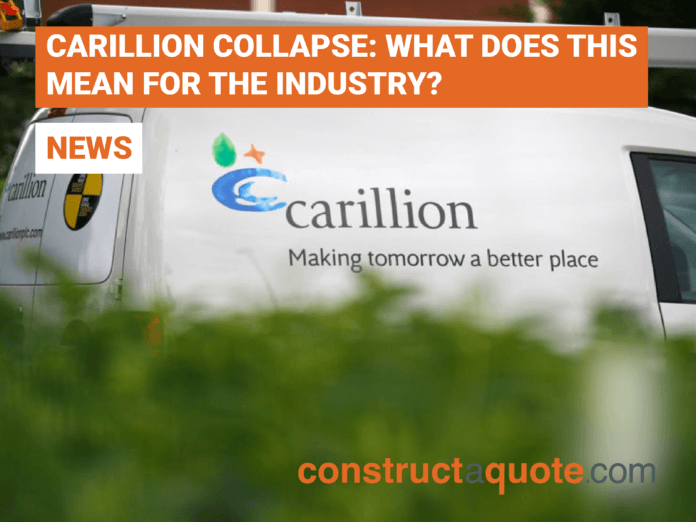 Carillion Collapse - constructaquote.com