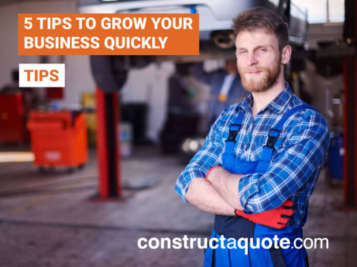 grow your business | constructaquote