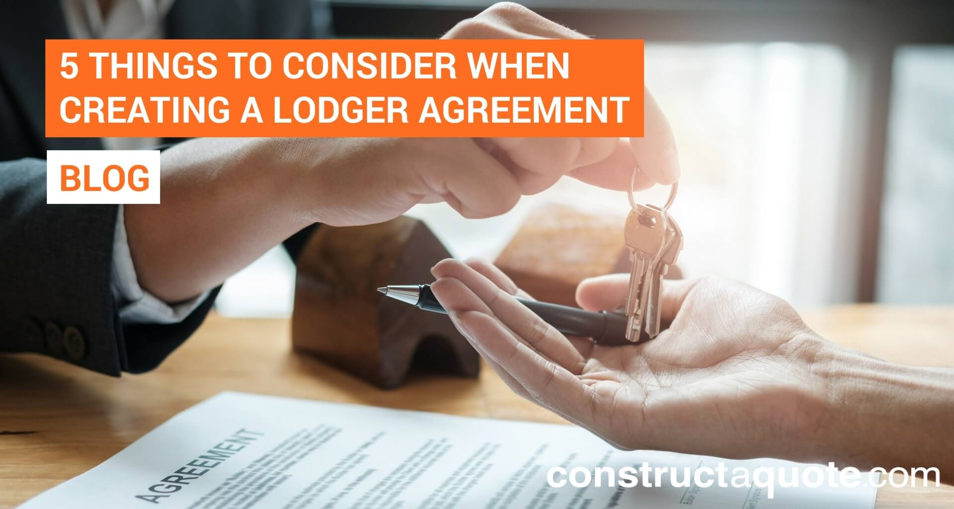 Live-in landlords: 5 key things to consider when creating a lodger agreement