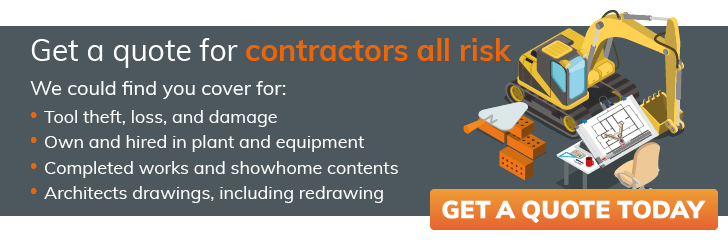 contractors all risk quote