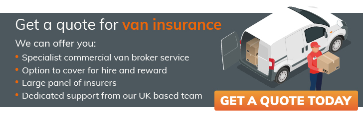 Get a quote for van insurance from constructaquote.com
