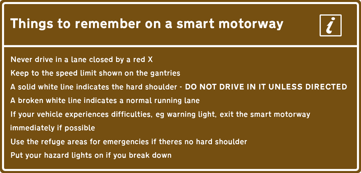 tips for smart motorways